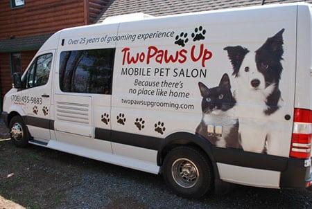 Мобильный груминг салон для животных! VIP-обслуживание по доступным ценам!